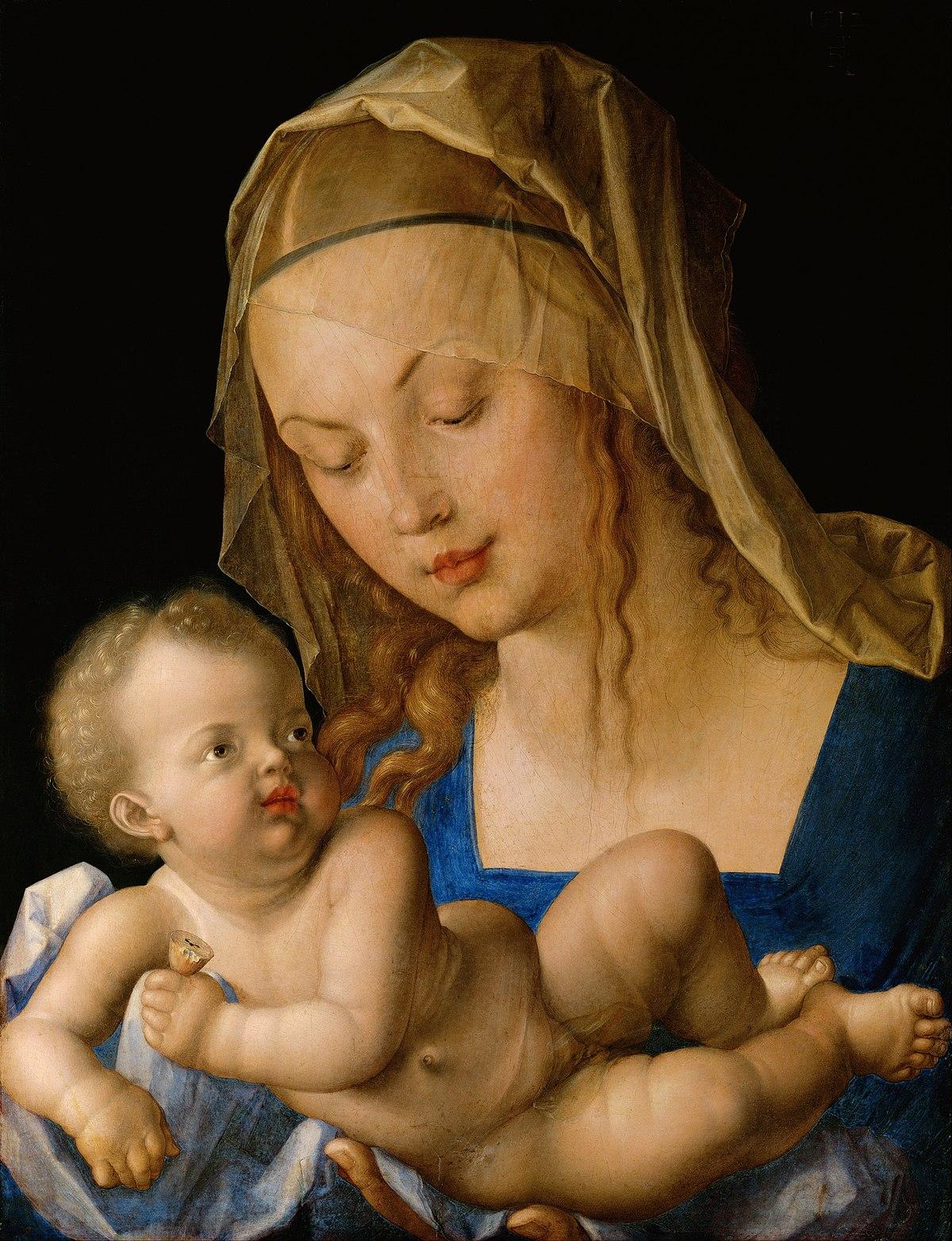 Maria mit der Birnenschnitte – Wikipedia