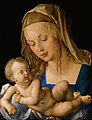 Albrecht Dürer - Virgin and child with a pear - Google Art Project.jpg
