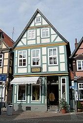 Geburtshaus von Albrecht Daniel Thaer in Celle (Quelle: Wikimedia)