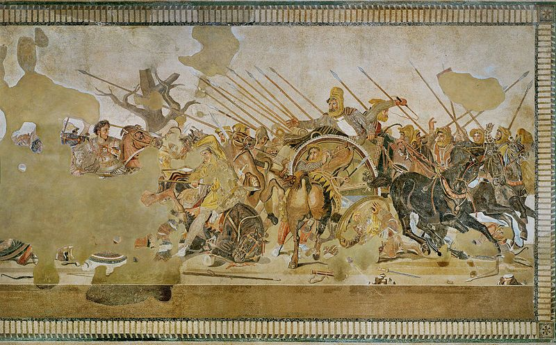 File alexander battle of issus wikimedia for Battle of issus painting