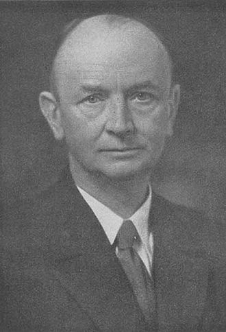 Alfred Stock - Portrait of the German chemist Alfred Stock (1876 – 1946).