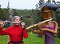 "Algarve - Sao Jao - Ann and ""Flute"" (25528457160).jpg"