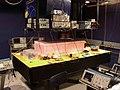 Alice in BBN laboratory - DARPA Quantum Network, January 2003.jpg