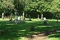 All Saints Church, Manor House Lane, Little Bookham (May 2014) (Graveyard).JPG
