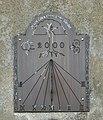All Saints Church - sundial on south porch - geograph.org.uk - 1395775.jpg