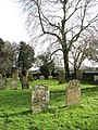 All Saints church - churchyard - geograph.org.uk - 1692095.jpg