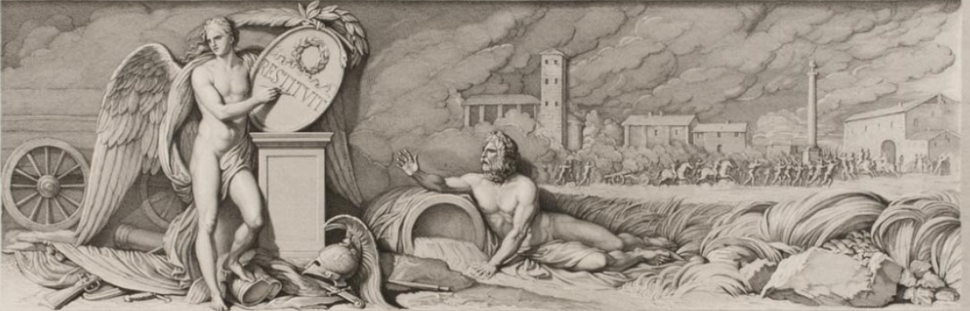 Allegory Representing the Convention of Alessandria after Napoleon's Victory at the Battle of Marengo
