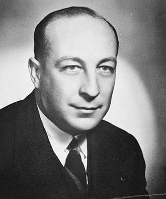 Allen Fairhall - Fairhall in the 1950s.