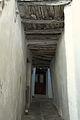 Alley beneath the Capuchin monastery, Chora of Naxos, Kastro, 110240.jpg