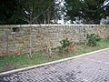 Alnwick cemetery loopholed wall - geograph.org.uk - 1734741.jpg