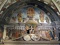 Altare di san vincenzo ferrer, affreschi di liberale da verona 01.JPG