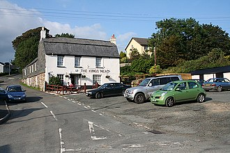 Civil parishes in Cornwall - Image: Altarnun The Kings Head, Fivelanes geograph.org.uk 511738