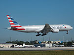 American Airlines Boeing 777-200ER (N765AN) at Miami International Airport.jpg