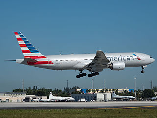 American Airlines Boeing 777-200ER (N765AN) at Miami International Airport.jpg