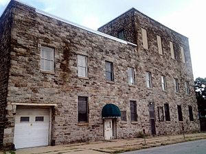 National Register of Historic Places listings in North and Northwest Baltimore - Image: American Ice Company Baltimore Plant No 2 2012 09 04 15 13 52
