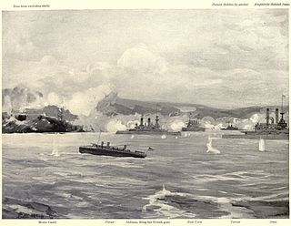 Bombardment of San Juan Engagement between US Navy warships and Spanish in Puerto Rico
