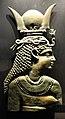 Amrit (siria), busto di iside in bronzo, I sec ac-II dc ca..JPG