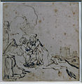 Amsterdam - Rijksmuseum - Late Rembrandt Exposition 2015 - The Agony in the Garden 1657 A.jpg