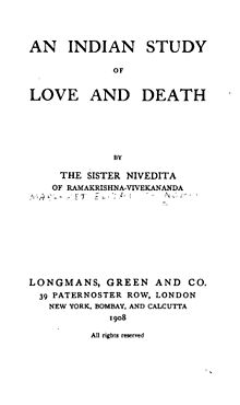 An Indian Study of Love and Death title page.jpg