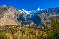 An autumn morning, Karimabad, Hunza.jpg