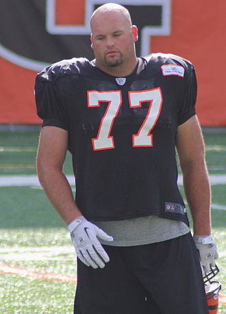 Andrew Whitworth - Whitworth at Bengals training camp in 2012.