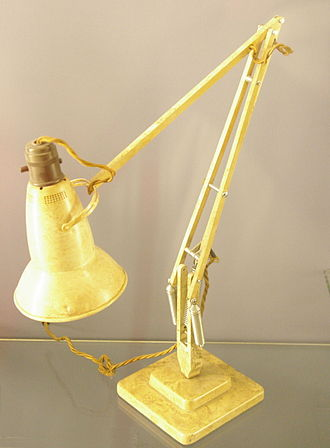 Balanced-arm lamp - Anglepoise model 1227 from 1935