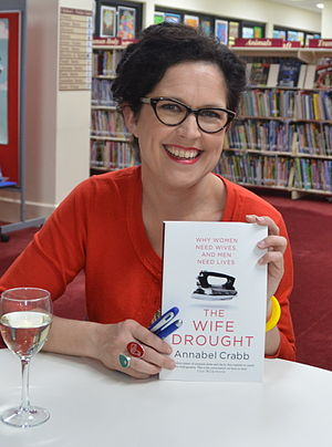Annabel Crabb - Crabb promoting The Wife Drought, October 2014