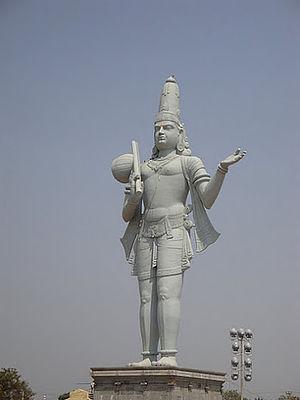 Rajampet - Annamayya statue at Rajampet