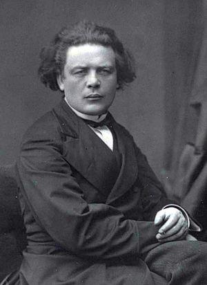 """Anton Rubinstein - """"Van II"""": Liszt considered Rubinstein to have a physical likeness to Ludwig van Beethoven."""