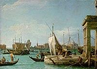 Antonio Canal, gen. Canaletto, , Kunsthistorisches Museum Wien, Gemäldegalerie - Die Dogana in Venedig - GG 6331 - Kunsthistorisches Museum.jpg