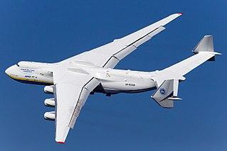 Antonov An-225 <i>Mriya</i> Soviet/Ukraine six–engine heavy strategic airlifter