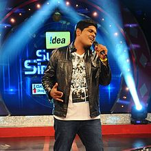Anurag Kulkarni at the Idea Super Singer Season 8