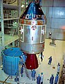 Apollo 11 CSM moved for mating to spacecraft adapter (S69-32370).jpg