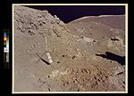 Apollo 17 onboard photo of area near the Valley of Tourus-Littrow on the lunar surface. (3746738951).jpg