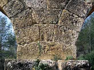 Les Ferreres Aqueduct - Image: Aqüeducte de les Ferreres Tarragona 2