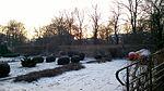 Archaeological Museum garden in Kraków, winter 2016 II.jpg