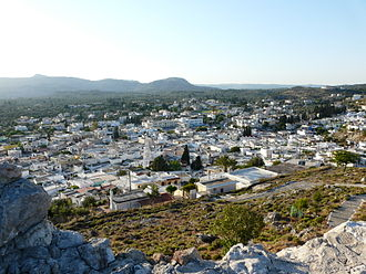 Archangelos, Rhodes - Image: Archangelos 042