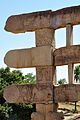 Architraves East Ends - Rare Side - East Gateway - Stupa 1 - Sanchi Hill 2013-02-21 4387.jpg