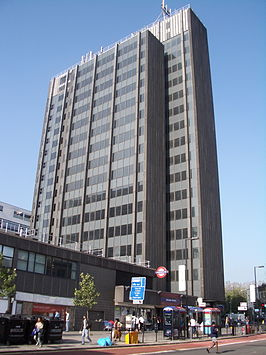 Archway Tower and tube station 2005.jpg