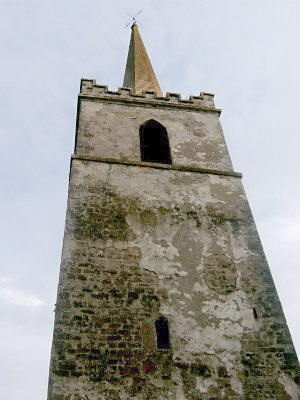 Sigtrygg Silkbeard - The medieval tower of the stone church of Ardbraccan, County Meath, in which Sigtrygg burned over 200 men