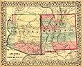 Arizona and New Mexico. LOC 98687198.jpg