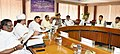 Arjun Ram Meghwal in a meeting with the Members of Parliament, regarding Swachhta Pakhwada, 2018, observed by the Ministry of Parliamentary Affairs, in New Delhi (1).jpg