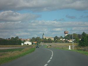 Arvert - Arvert road