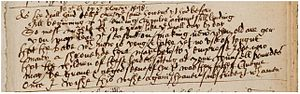 "Shakespeare apocrypha - The manuscript of ""To the Queen by the Players"""