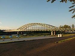 Asahibashi Bridge Asahikawa Hokkaido Japan.jpg