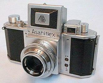 Pentax cameras - The Asahiflex IIb