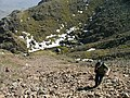 Ascent of scree slope from Foxes Tarn to Scafell summit - geograph.org.uk - 535739.jpg