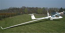 Ash25m A Self Launching Two Seater Glider