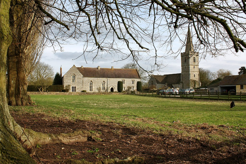 Ashleworth Court and Church