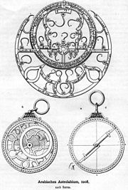 A Persian (Iranian) astrolabe from 1208